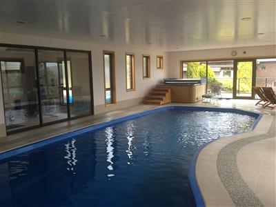 Indoor Pool at Island Eden Tasmania